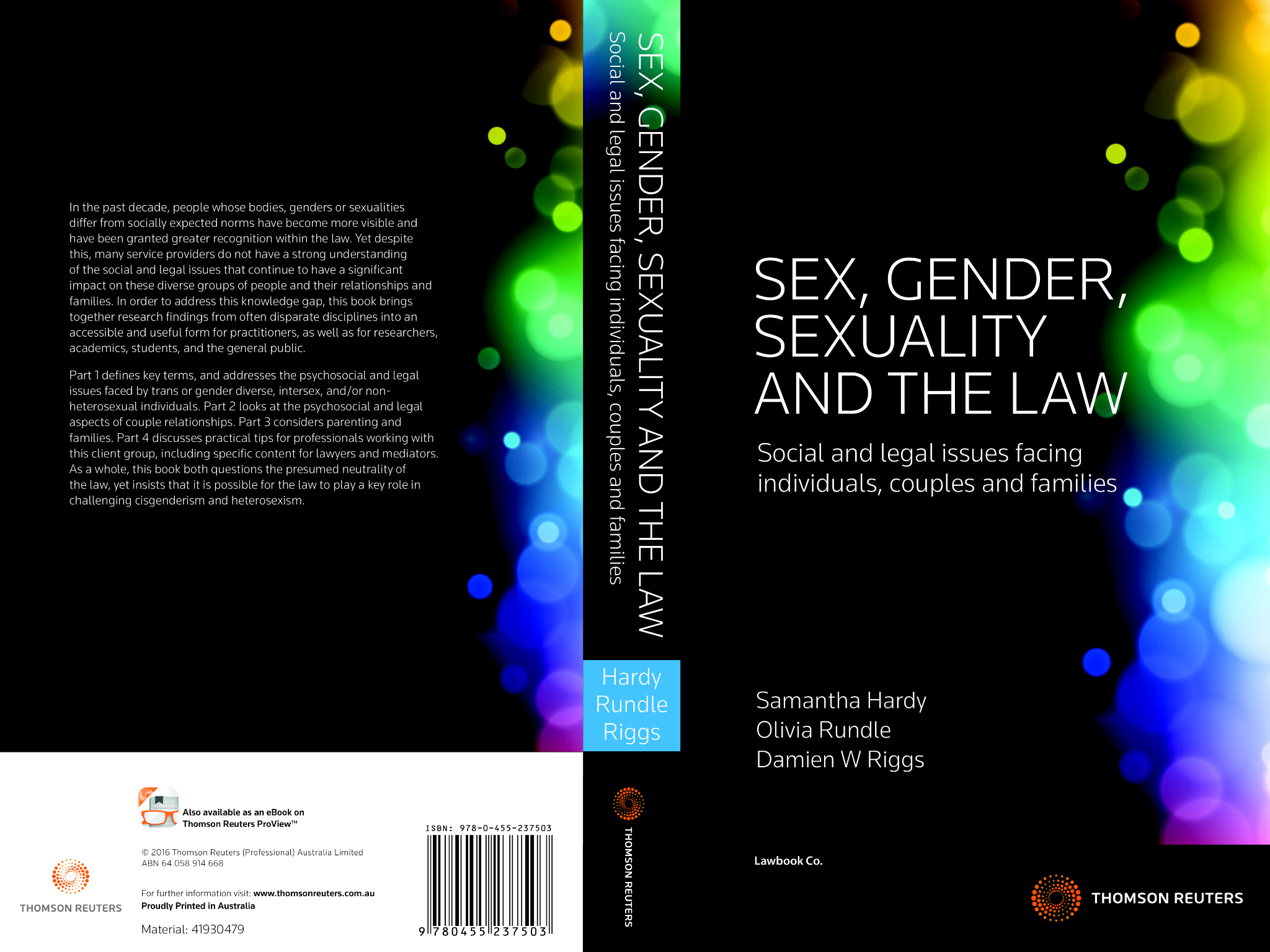 My new book sex gender sexuality and the law samantha hardy my new book sex gender sexuality and the law fandeluxe Gallery
